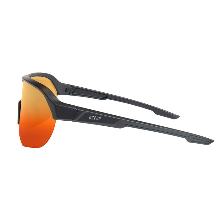 OCEAN WULING Polarized Sport Performance Sunglasses Frame Color Matte Black Lens Color Smoke 97000.2 KRNglasses.com