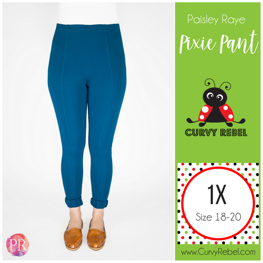 Paisley Raye Pixie Pant - Shop this and other amazing styles at www.CurvyRebelBoutique.com!