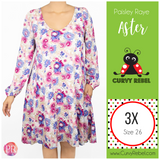 Paisley Raye Aster Dress - Shop this and other amazing styles at www.CurvyRebelBoutique.com!