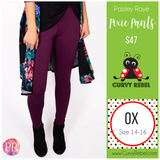 Paisley Raye Pixie Pant - Shop this and other amazing styles at www.CurvyRebel.com!