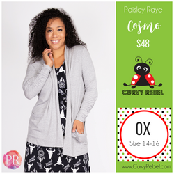 Paisley Raye Cosmo - Shop this and other amazing styles at www.CurvyRebel.com!