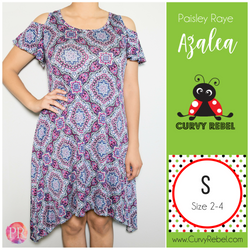 Paisley Raye Azalea Dress - Shop this and other amazing styles at www.CurvyRebelBoutique.com!