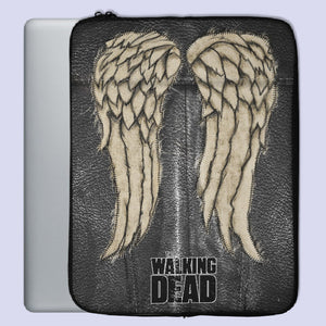 The Walking Dead Wings Daryl Dixon Laptop Sleeve | Teesmarvel