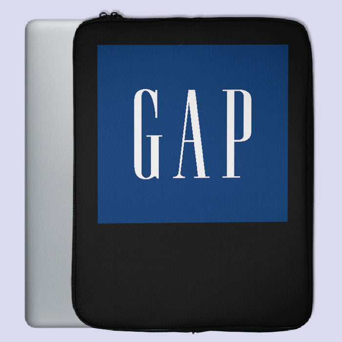 The GAP Inc Logo Laptop Sleeve | Teesmarvel