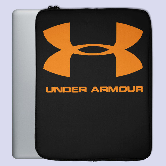 Under Armour Orange Logo Laptop Sleeve | Teesmarvel