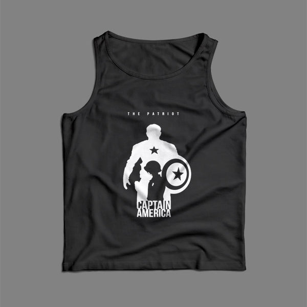Captain America The Patriot Men Tank Top | Teesmarvel