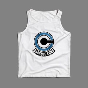 Blue Capsule Corp Men Tank Top | Teesmarvel