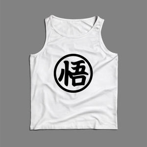 Goku Dragon Ball Z Logo Men Tank Top | Teesmarvel