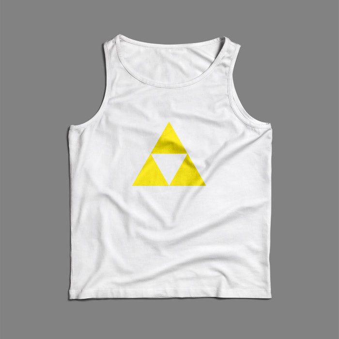 Gold Triangle Triforce Zelda Men Tank Top | Teesmarvel