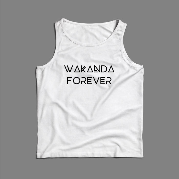 Wakanda Forever Black Panther Men Tank Top | Teesmarvel
