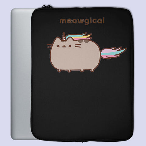 Pusheen Unicorn Meowgical Laptop Sleeve | Teesmarvel