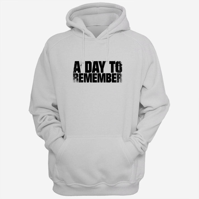 A Day To Remember Font Men Hoodies | Women Hoodies | Teesmarvel