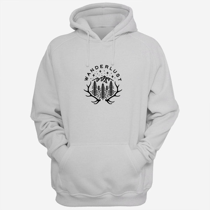 Forest Deer Wanderlust Quotes Men Hoodies | Women Hoodies | Teesmarvel