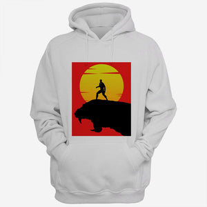 Sunset Black Panther Marvel Super Hero Men Hoodies | Women Hoodies | Teesmarvel