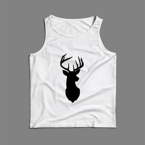 Deer Silhouette Men Tank Top | Teesmarvel