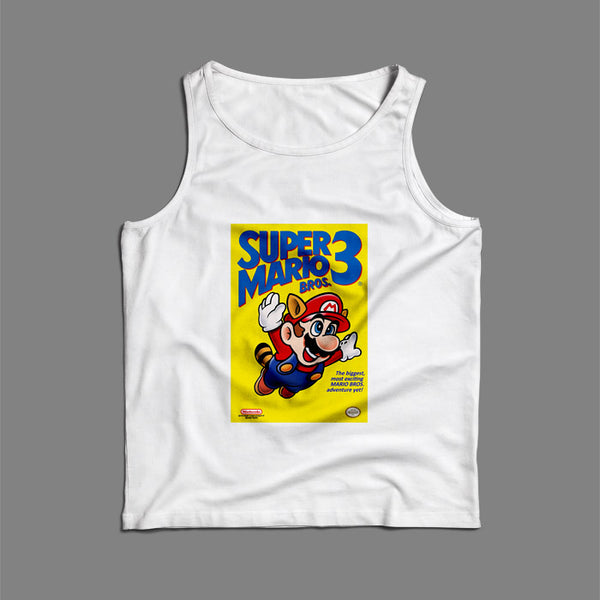 Super Mario Bros 3 Men Tank Top | Teesmarvel
