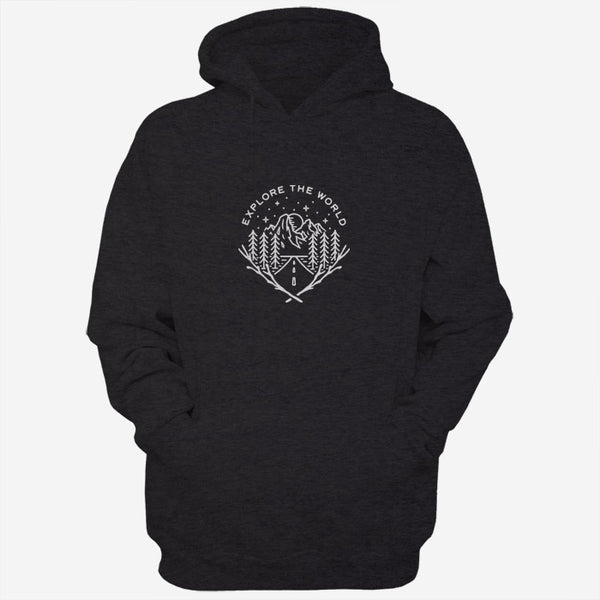 Explore The World Men Hoodies | Women Hoodies | Teesmarvel