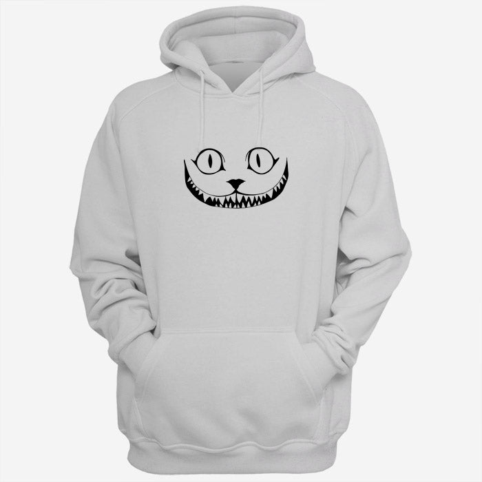 Cheshire Cat Face Silhouette Men Hoodies | Women Hoodies | Teesmarvel