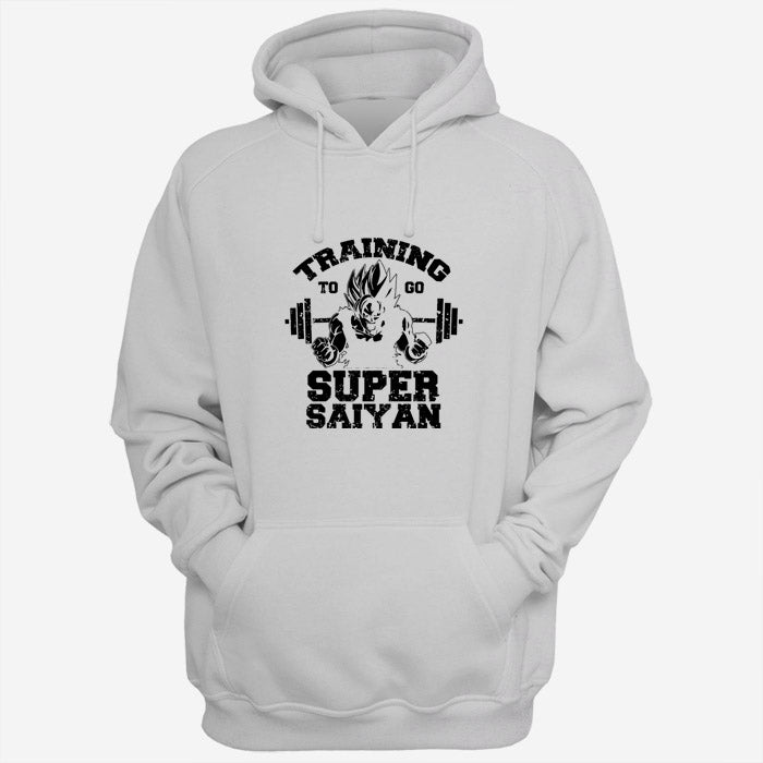 Training To Go Super Saiyan Men Hoodies | Women Hoodies | Teesmarvel