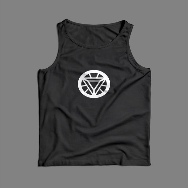 Triangel Iron Man Arc Reactor Men Tank Top | Teesmarvel