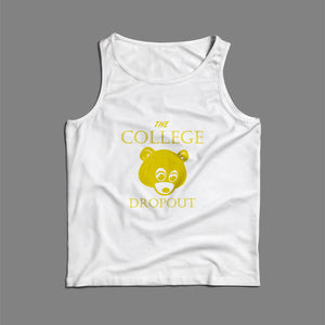 Kanye West The College Dropout Bear Men Tank Top | Teesmarvel
