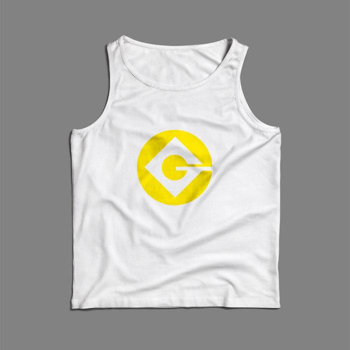 Minion Logo Men Tank Top | Teesmarvel