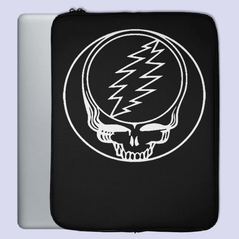 Black White Grateful Dead Laptop Sleeve | Teesmarvel