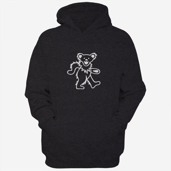 Black White Grateful Dead Bear Men Hoodies | Women Hoodie | Teesmarvel