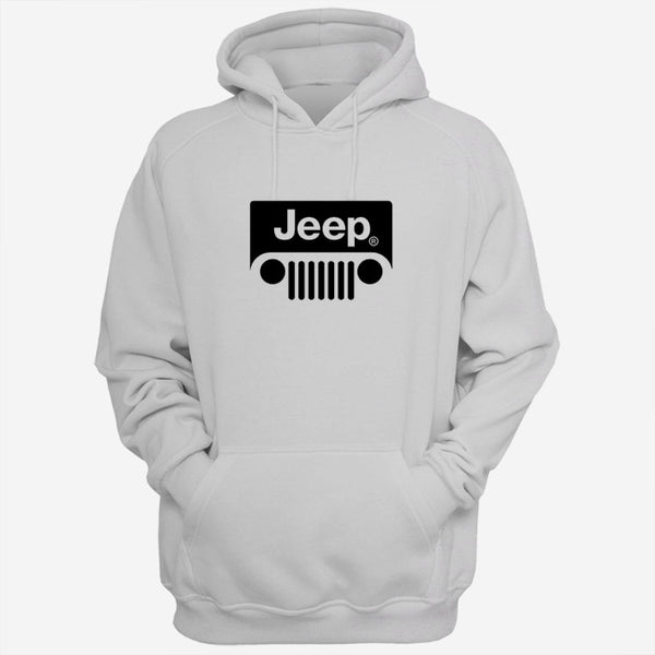 Black White Jeep Logo Men Hoodies | Women Hoodie | Teesmarvel