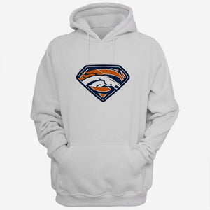 Denver Broncos Superman Logo Men Hoodies | Women Hoodie | Teesmarvel