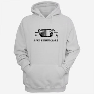 Life Behind Bars Jeep Men Hoodies | Women Hoodie | Teesmarvel