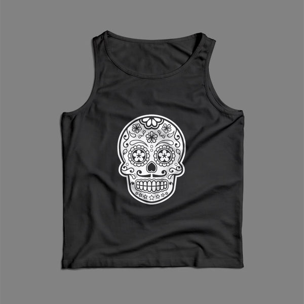 Sugar Skull Mexican Art Men Tank Top | Teesmarvel