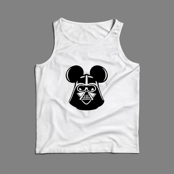 Darth Vader Mickey Star Wars Men Tank Top | Teesmarvel