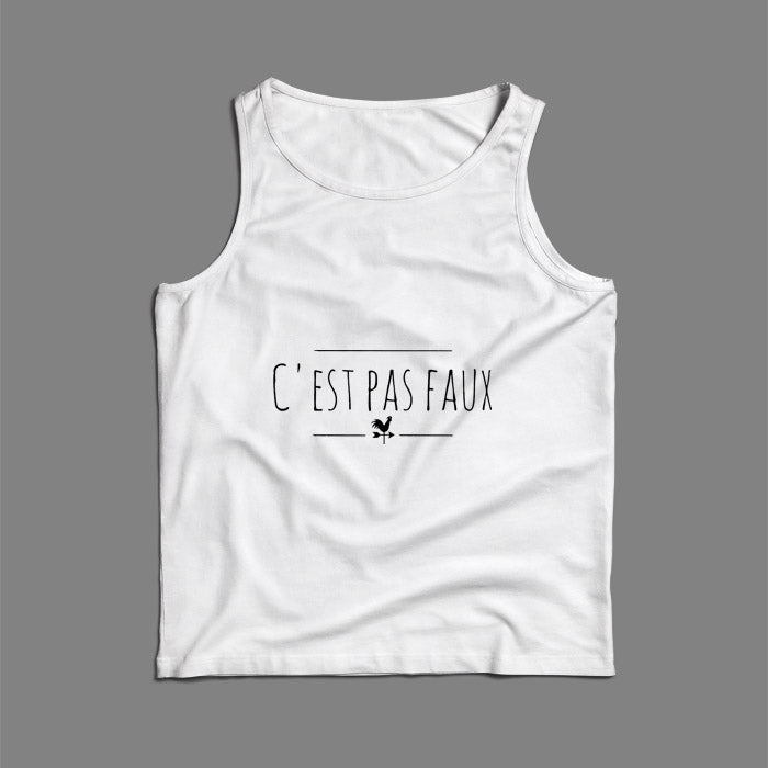 Is Not Faux Kaamelott Men Tank Top | Teesmarvel