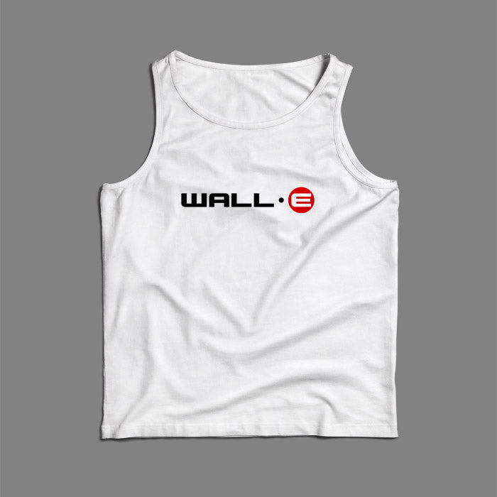 Wall E Logo Disney Robot Story Men Tank Top | Teesmarvel