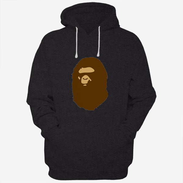 Brown A Bathing Ape Logo Men Hoodies | Women Hoodies | Teesmarvel