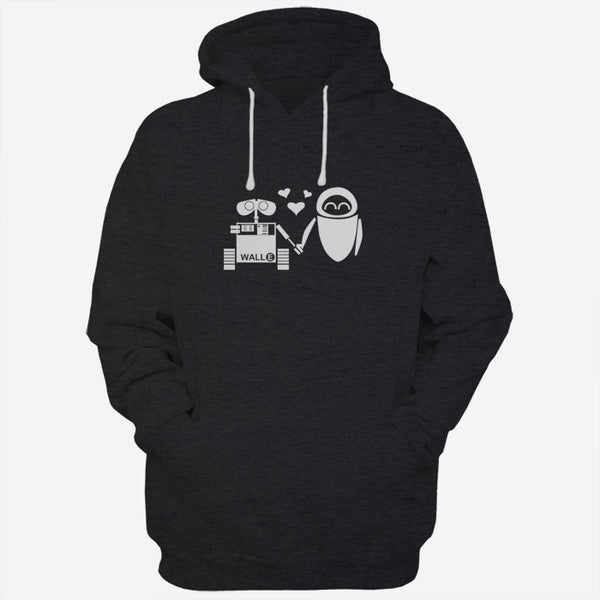 Disney Wall E And Eve Men Hoodies | Women Hoodies | Teesmarvel