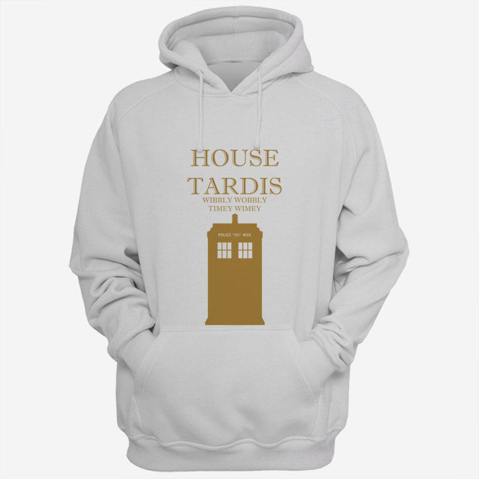 House Tardis Wibbly Wobbly Timey Wimey Men Hoodies | Women Hoodies | Teesmarvel