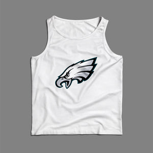 Head Eagle Logo Super Bowl LII Men Tank Top | Teesmarvel