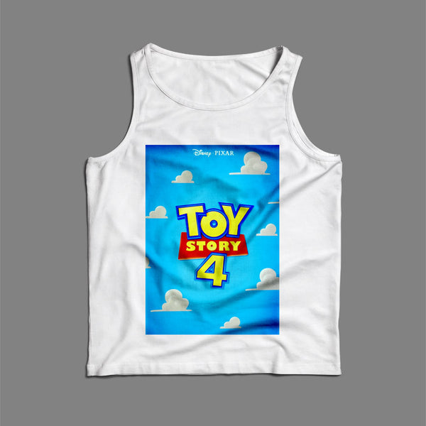 Toy Story 4 Poster Men Tank Top | Teesmarvel