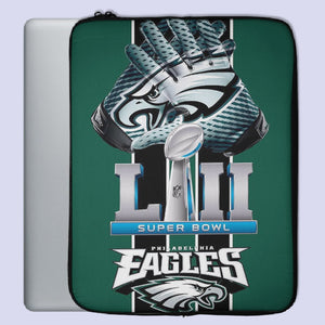 Philadelphia Eagle Super Bowl LII Laptop Sleeve | Teesmarvel