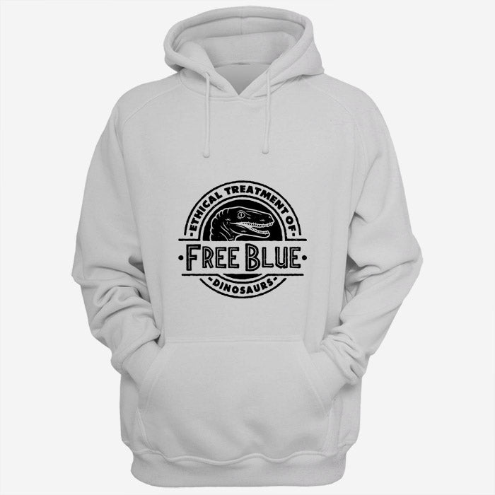 Ethical Treatment Of Free Blue Dinosaurs Jurassic World Fallen Kingdom Men Hoodies | Women Hoodies | Teesmarvel
