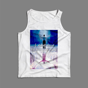The Greatest Showman Movie Inspired Song Lyrics A Million Dreams Keeping Me Awake Quotes Men Tank Top | Teesmarvel