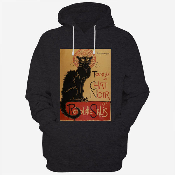 Tournee Du Chat Noir De Rodolphe Salis Black Cat Poster
