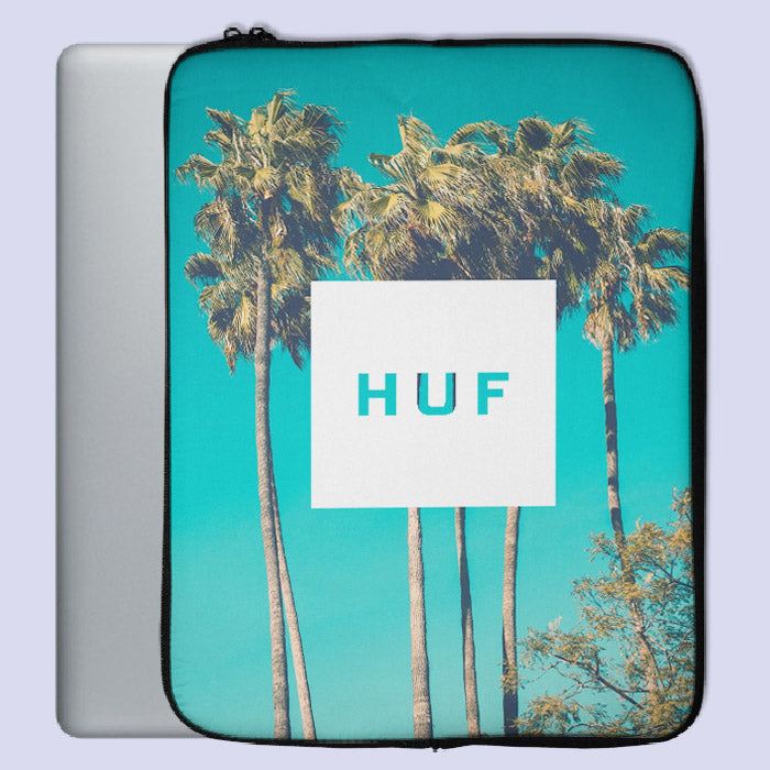 Huf Palm Art Poster Laptop Sleeve | Teesmarvel