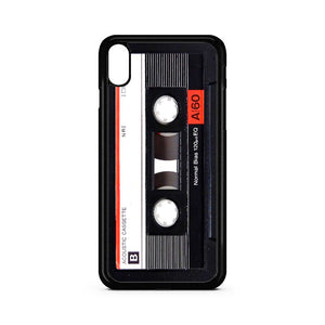 A60 Black Cassette Player iPhone XR Case | Teesmarvel