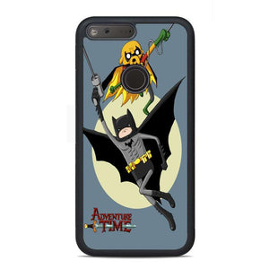Adventure Time Batman And Robin Google Pixel Case | Teesmarvel