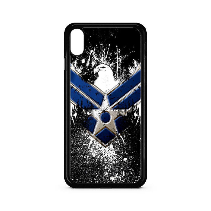 Air Force Logo iPhone XS Case | Teesmarvel