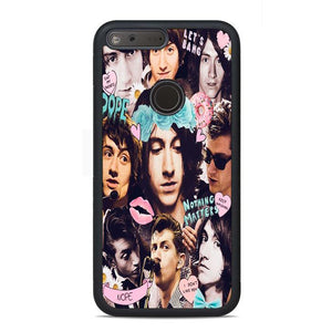 Alex Turner Photo Collage Google Pixel Case | Teesmarvel
