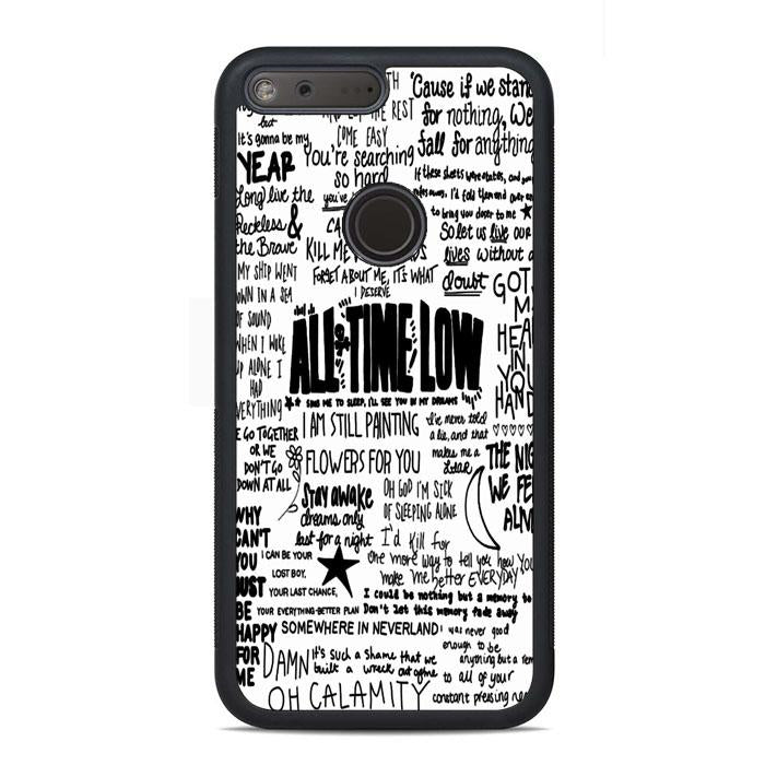 All Time Low Quote Song Google Pixel Case | Teesmarvel